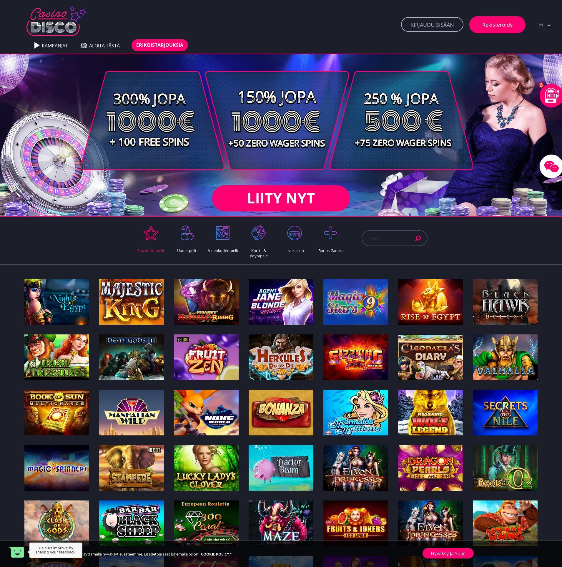 Jeux Disco Casino : quels sont les titres les mieux notés ?